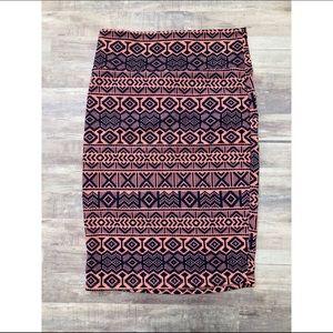 Lularoe Aztec Cassie Skirt, NWT, S